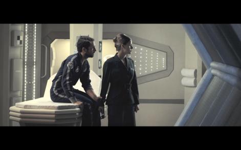 Fotograma del cortometraje Hibernation