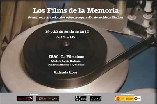 Cartel Filmoteca Jornadas Los Films de la Memoria