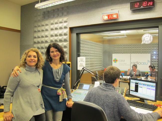 Àngels Álvarez y Kety Betés,  Jefas de los Servicios Informativos y  de Programación