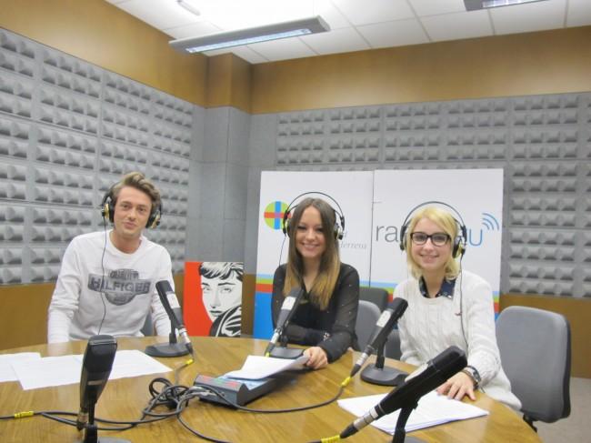 Espacio sobre medioambiente Mireia Morell, Paco Gaya y Carmen Sánchez