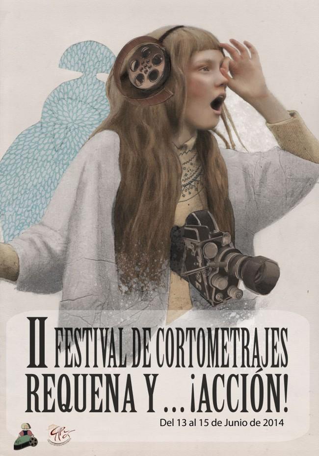Cartel II Festival Cortometrajes Requena y Accion