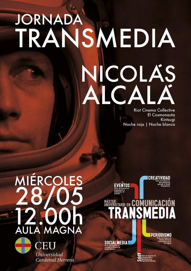 Jornada Transmedia CEU Nicolas Alcala 01