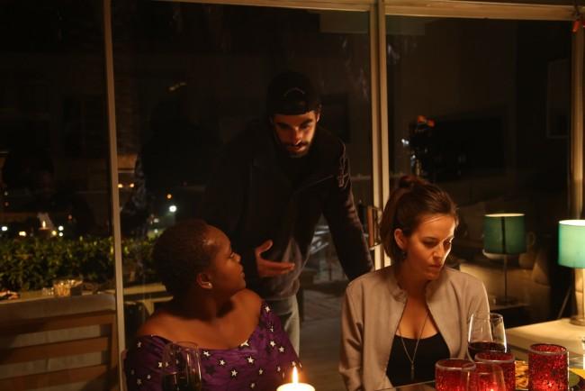 Dirigiendo a dos actrices