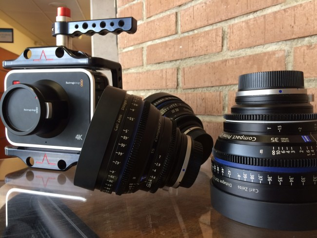 Blackmagic 4k y ópticas Zeiss.