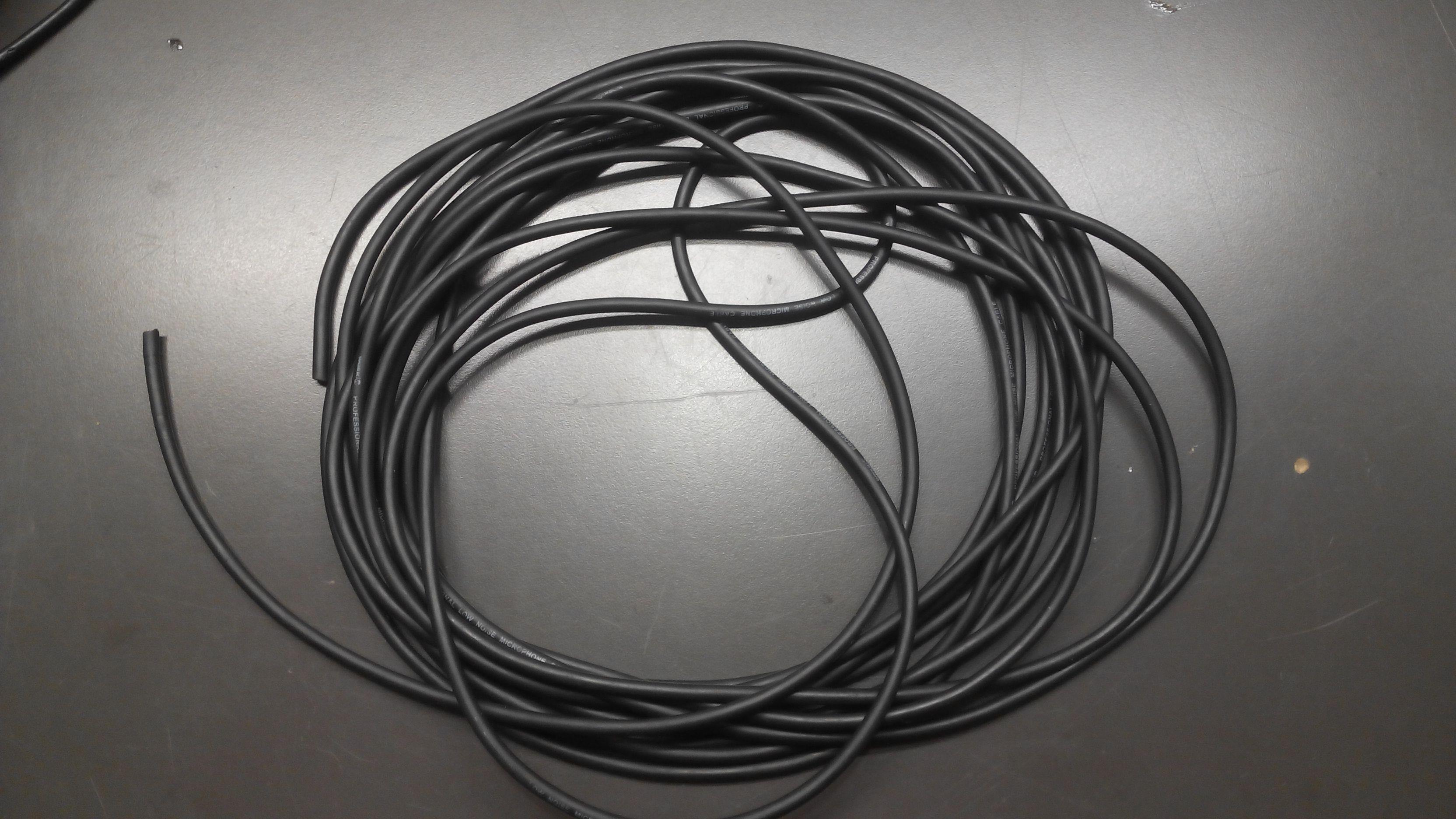 Cable 2 vivos y malla