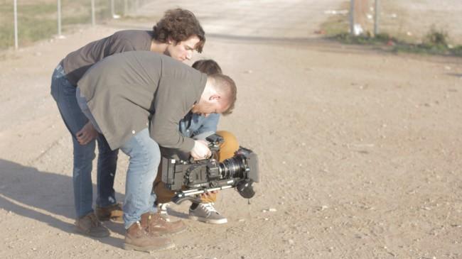 Nacho Errando, Director, junto con Yousef Daoud,Direccion de fotografía.