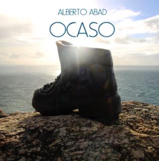 """Portada del disco """"Ocaso de Alberto Abad"""""""