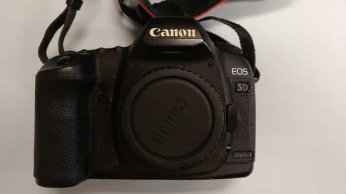 Reparación cámara Canon EOS 5D Mark II
