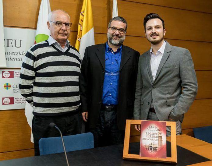 Baltasar Bueno, Raúl Cruz y Kevin Villar