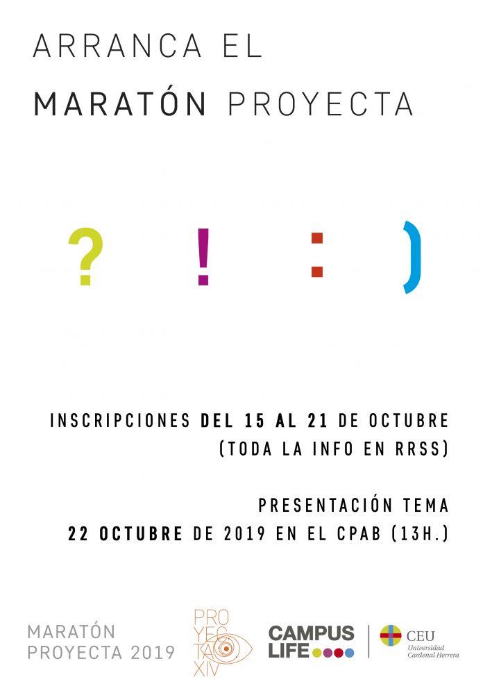 CArtel Maratón Proyecta