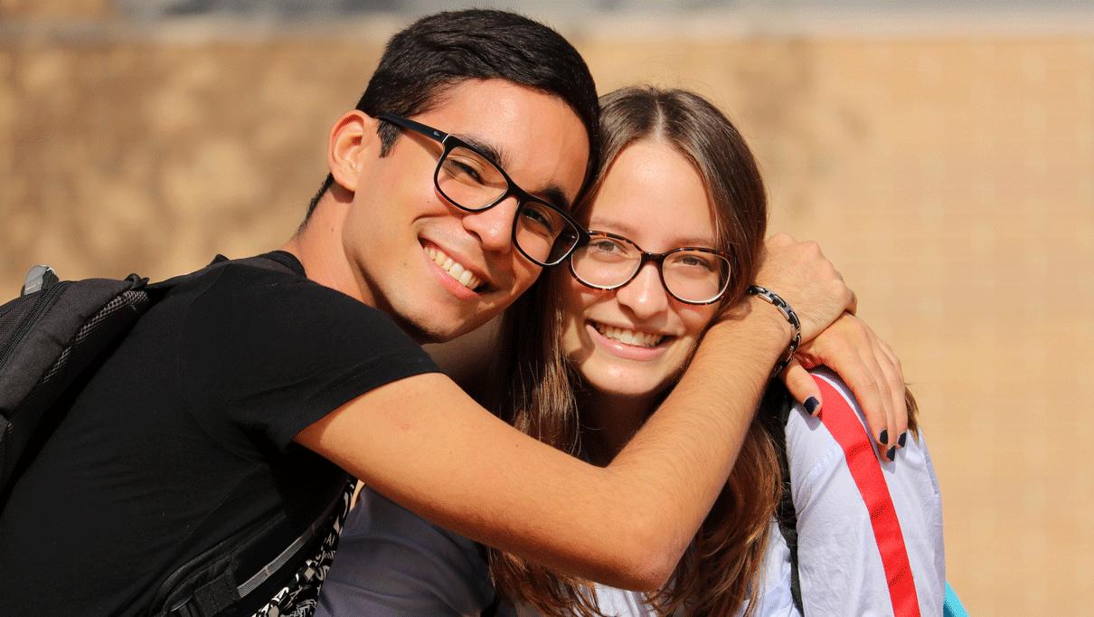 Students of Communication at CEU Valencia