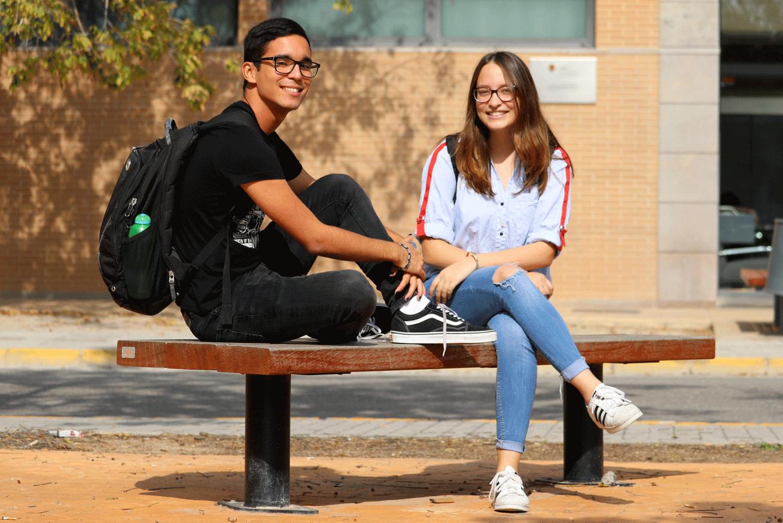 Students at CEU Valencia