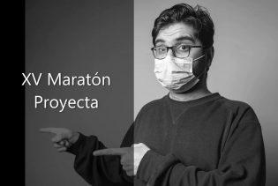 Cartel XV Maratón Proyecta