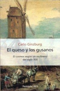 """Portada del libro """"El queso y los gusanos"""" de Carlo Ginzburg"""