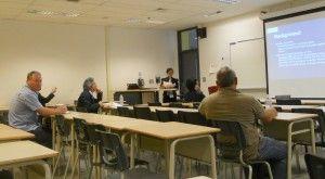 Hugo Aznar en la Sesión del IAMCR
