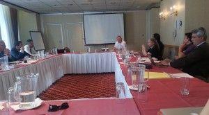 Intervención de Hugo Aznar en la Reunión del CIEDI (Hotel Governour)