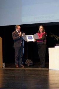 Marcela Lagarde fue galardonada con el Premio Isonomía contra la Violencia de Género 2015.