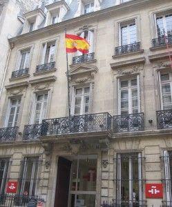 Instituto Cervantes de París en el 7, rue Quentin Bauchart