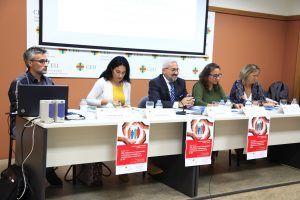 De izda. a dcha.: F. Salas, O. Fontanillo, E. Martín, P. Blaya y C. Silla