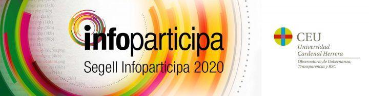 Acto de Entrega de los Sellos Infoparticipa 2020