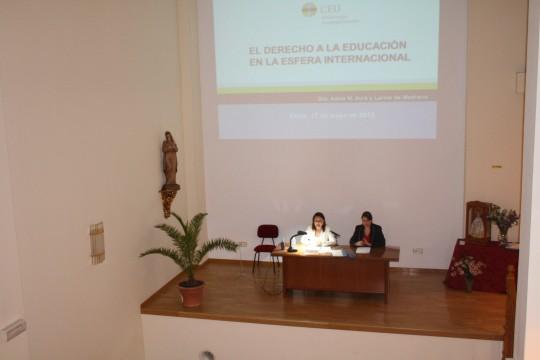 I Jornada Interdisciplinar: Derecho y Educación