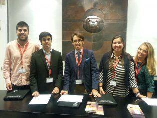 Nacho Blasco, Victor Fernández, Sergio García, Loreto Rada y Mª Ángeles García