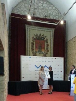 Entrega de premios, Castillo de Santa Bárbara