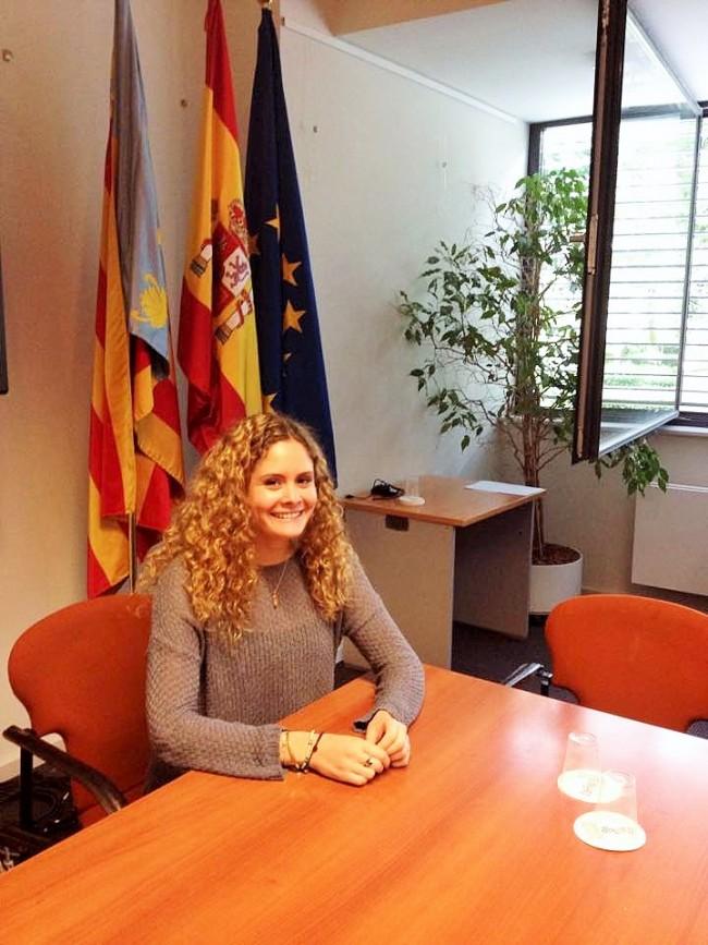 Laura Hernández en la FCVRE