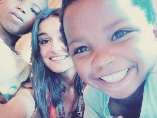 Andrea Nomdedeu en Madagascar