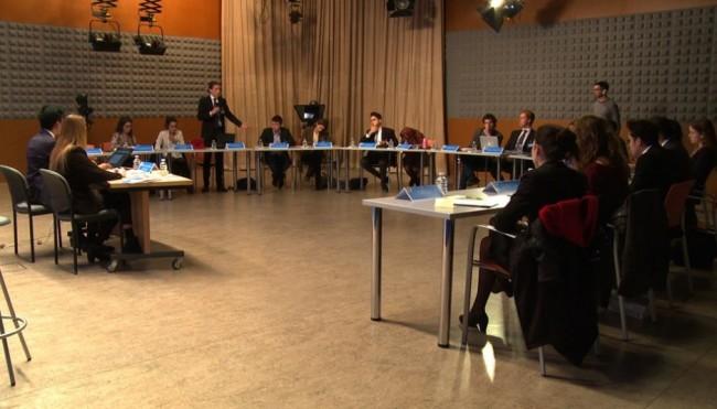 Los participantes de CEUMUN