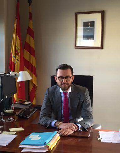 D. Ignacio Risueño, Juez del Juez del Juzgado de Primera Instancia e Instrucción nº1 de La Seu d'Urgell, y antiguo alumno de la CEU-UCH