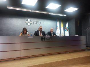 Mª José Boix, Enrique Centeno y Antonio Vicente