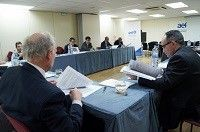Remigio Beneyto en una reunión del Consejo Asesor de la AEF.