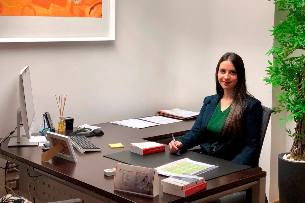 Noelia Úbeda, Alumni UCH CEU y Career Center