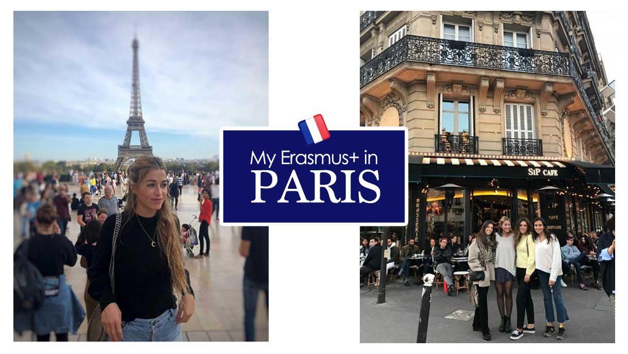 Memories of an Erasmus+ in paris