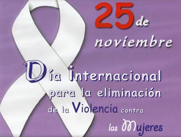 Día Internacional para la eliminación de la violencia contra la mujer.