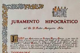 Fragmento Juramento Hipocrático