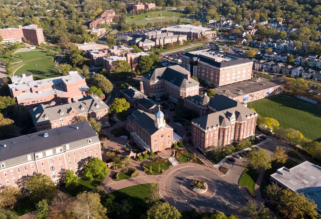 Vista general de la University of Dayton