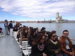 visita puerto embarque