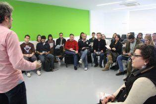 Alumnos participantes en el taller de Creación e innovación empresarial