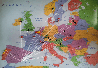 Mapa ERASMUS Empresa