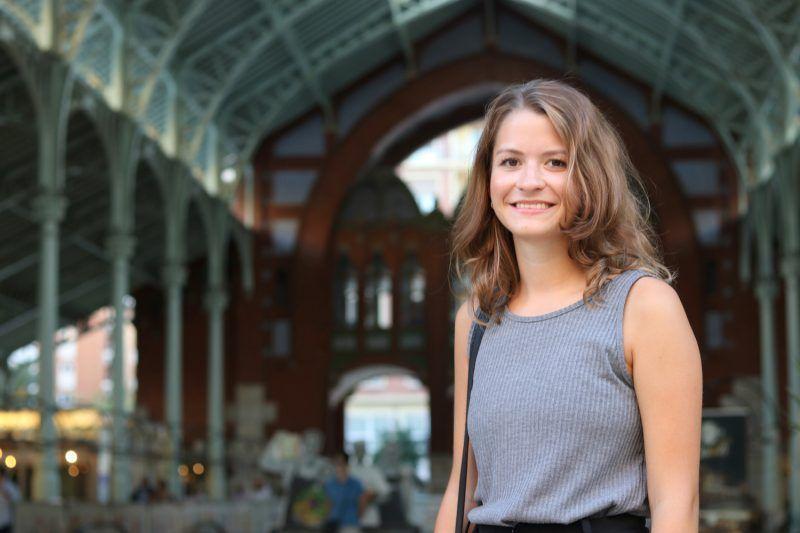 Denise eligió Valencia para su estancia Erasmus+