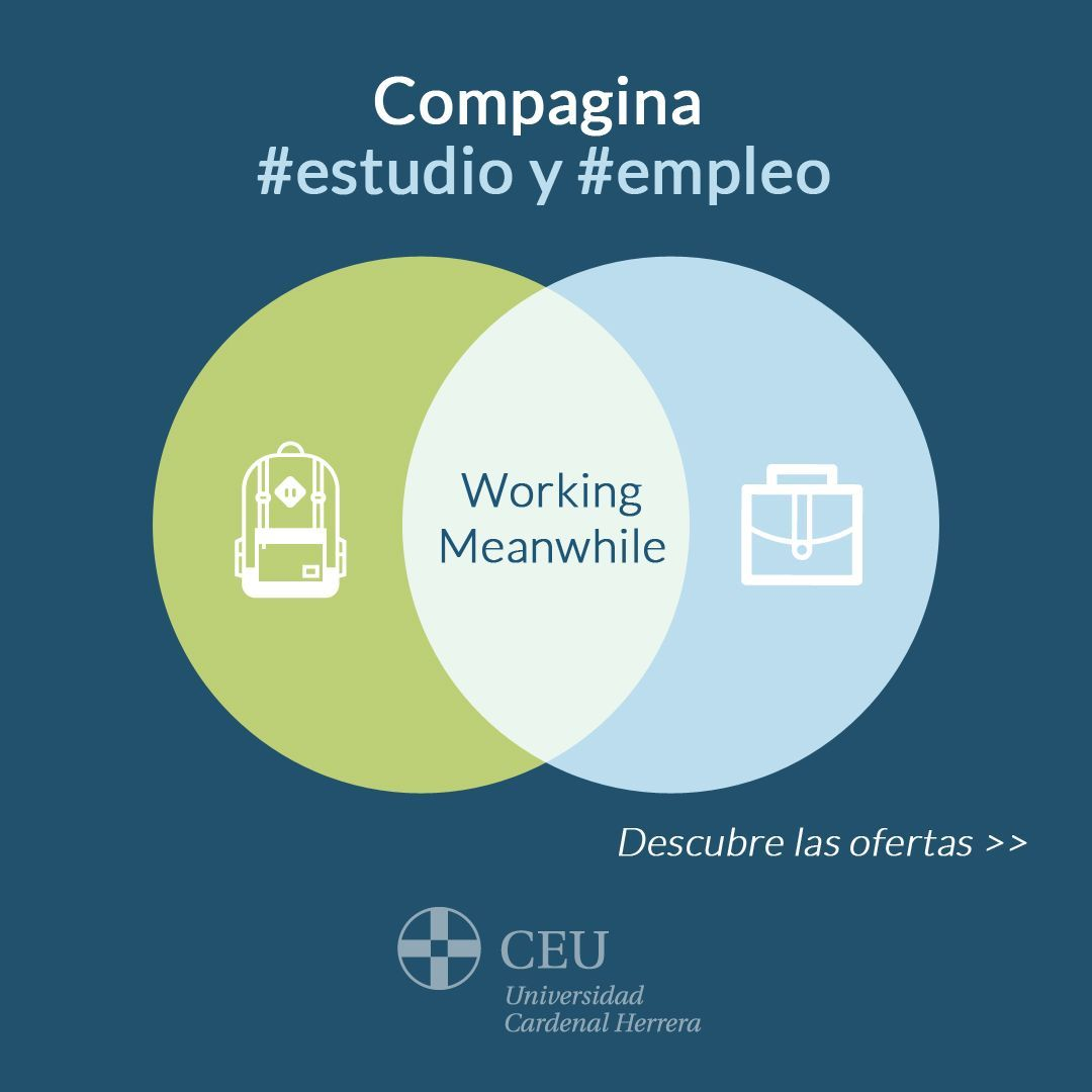 El Programa Working Meanwhile forma parte de la estrategia para el fomento de la empleabilidad de la Universidad CEU UCH.