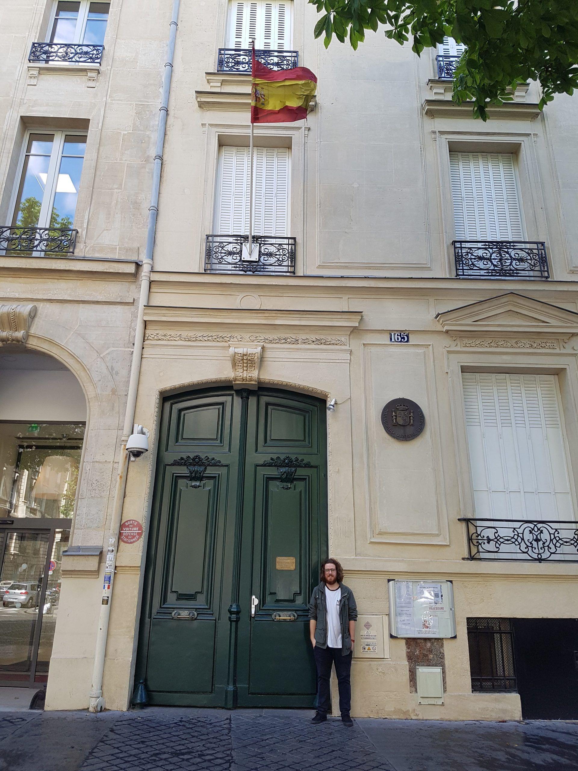 CEU_Student_Internship_Spanish_Consulate_Paris