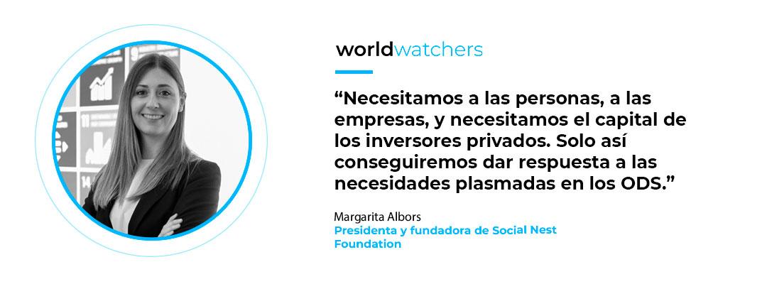 Margarita Albors, fundadora de Social Nest Foundation