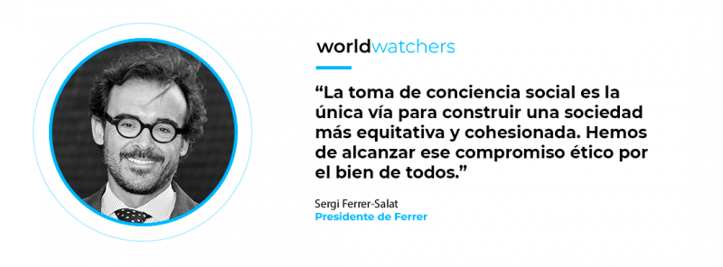 Sergi Ferrer-Salat, presidente de Grupo Ferrer