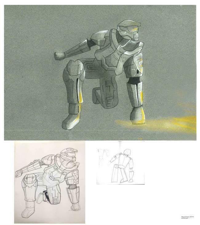 Dibujo de Aitor Calpe