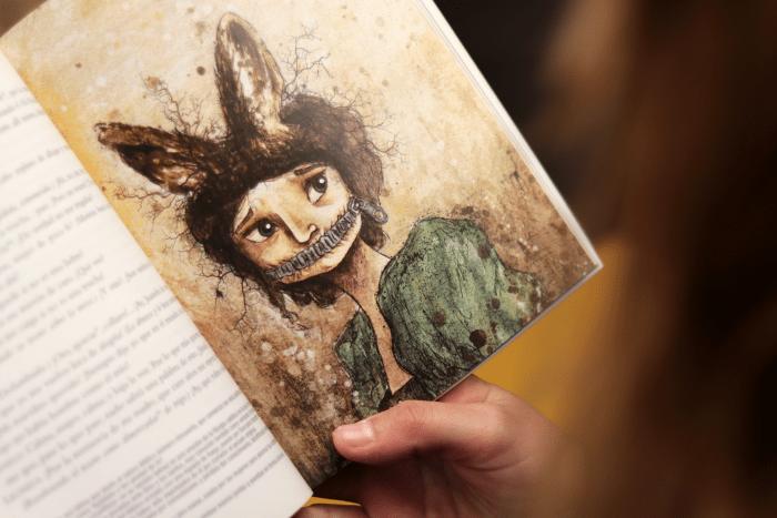 Una de las ilustraciones de Cristina de Cos-Estrada