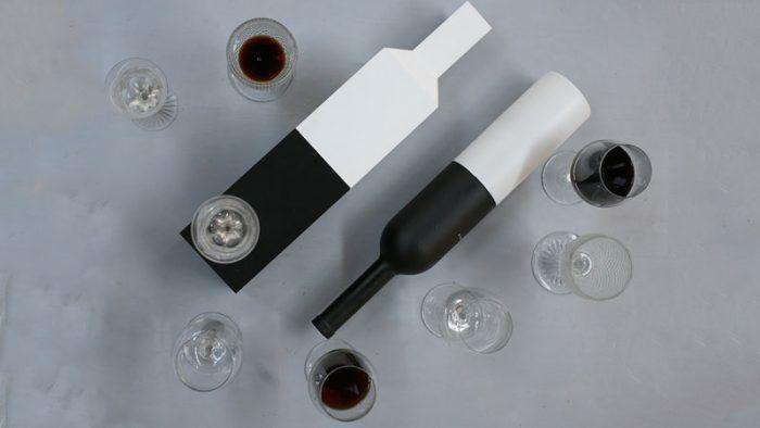 Diseño de vino español