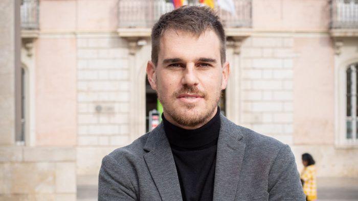 El profesor Ignacio Juan, de la ESET